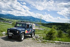 Offroad Training mit Landrover Defender