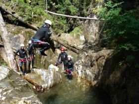 Canyoning in Kärnten Beginners
