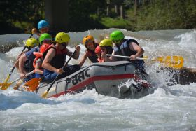 Family Rafting Enns 2 Erw.+2 Kinder