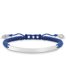 ThomasSabo LoveBridge Armband blau