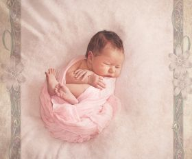 Newborn Vintage Photoshooting