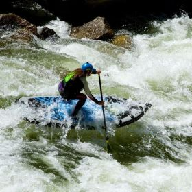 SUP Rafting-Stand Up Paddel-Action