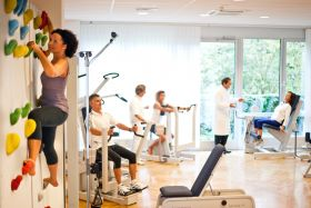 Assistierte medizin.Trainingstherapie