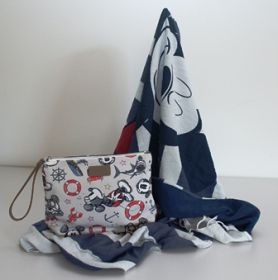 Codello Disney Strandtuch & Cosemtic Bag