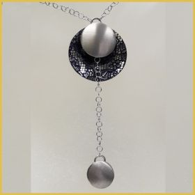 Collier in Silber