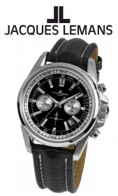 """JACQUES LEMANS"" - Herrenchronograph"