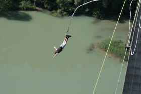 Bungy Jumping - Jauntalbrücke + HD-Video
