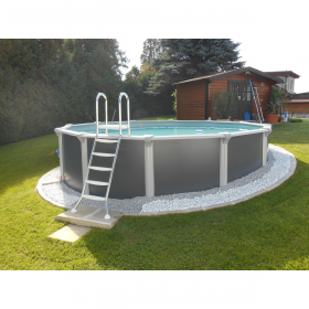 Steirerbecken-Pools Design Rund 3,6X1,32