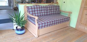 Sofa in Fichte massiv