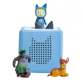 Toniebox Starter Blau + 2 Toniefiguren
