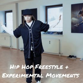HipHop Freestyle+Experimental Movements