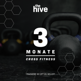 3 MONAT ABO -  the hive Cross Fitness