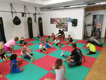 Fightclub 300 Weiz - Kidbox Training